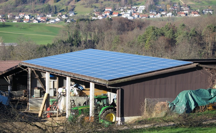 PVA Hof Oestel in Betrieb – Projekt erfolgreich abgeschlossen