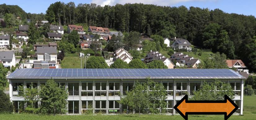 GV bewilligt Projekt PVA Schulhaus Erweiterung